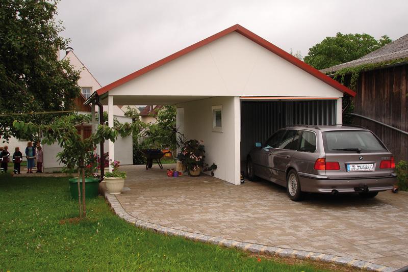 plechova sedlova strecha garaze1